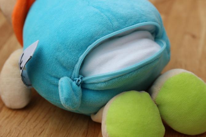MilkySnugz zipper bottom