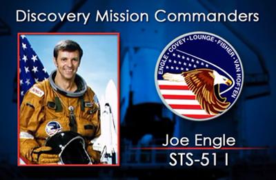 Joe Engle 1993 (STS-51-I). NASA 2012.