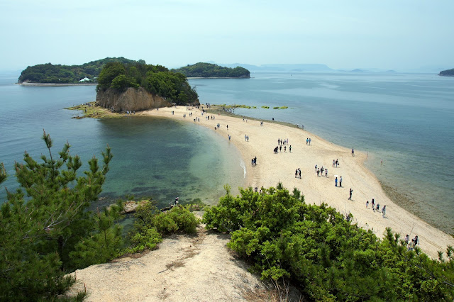 Angel Road Shodo Island,Japan