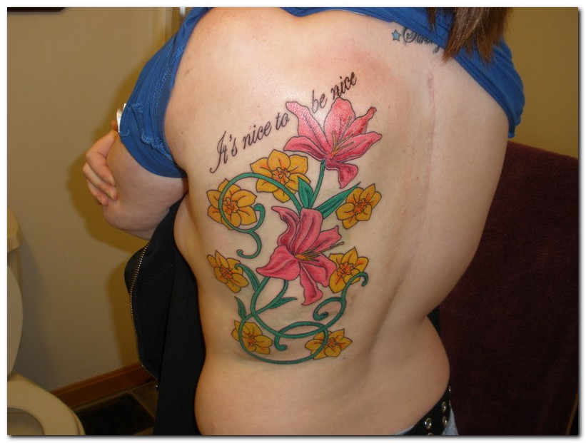 Beauty of Flower Tattoo Designs