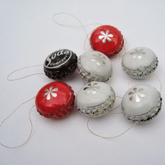 how to recycle recycled christmas tree ornaments - Recycled Christmas Ornaments