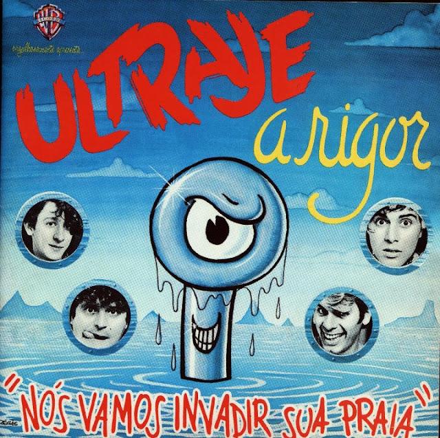 Capa do primeiro LP da banda paulistana Ùltraje à Rigor, lançado em 1985, pela Warner Music (Foto: Reprodução)