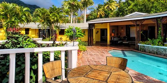 Montserrat luxury home and pool
