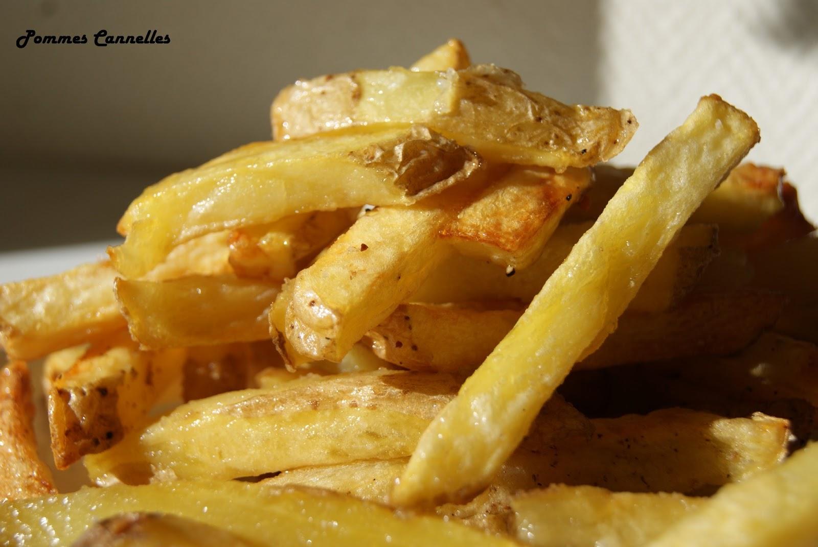 pommes cannelles frites maison sans friteuse