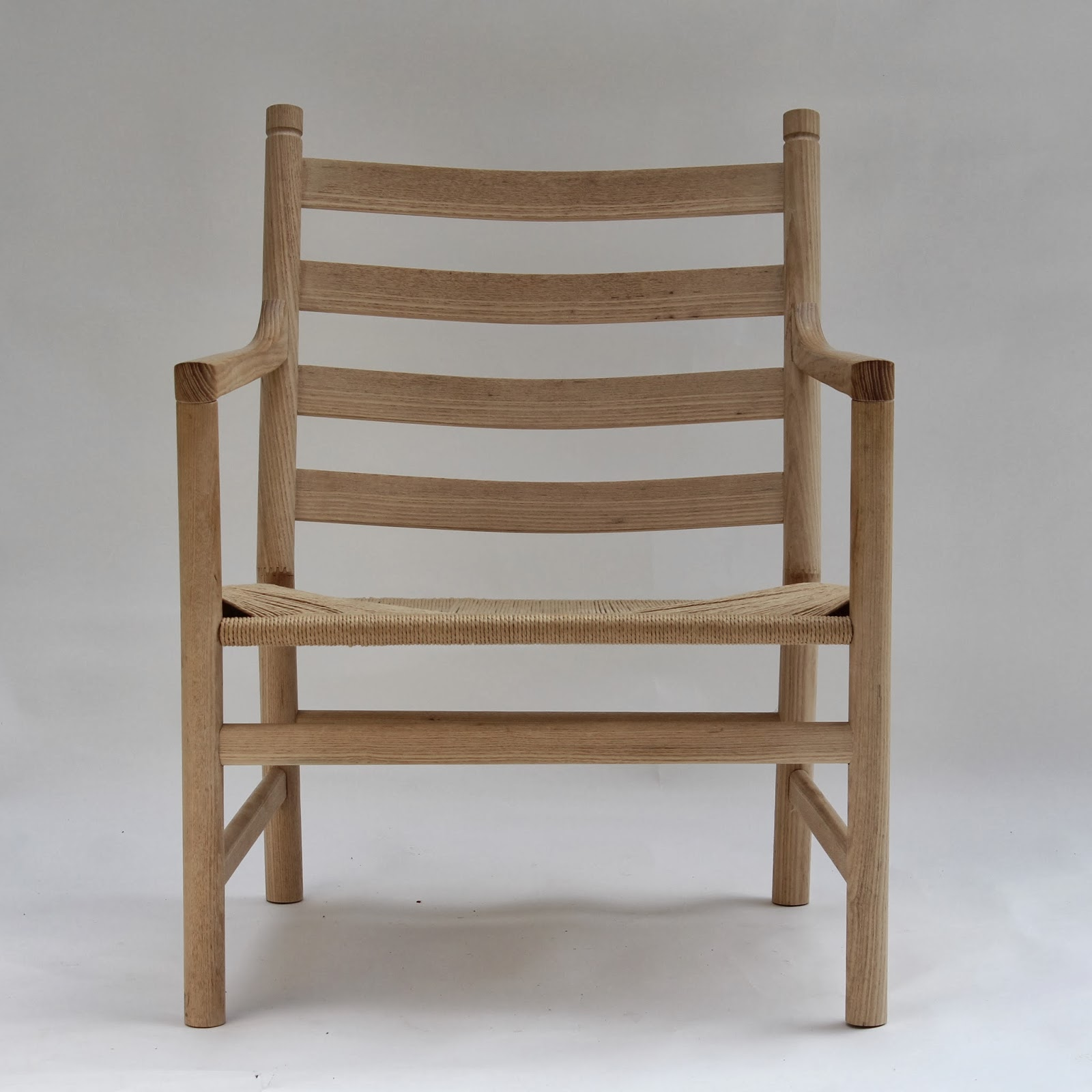 Caleb James Chairmaker Planemaker Danish Modern Chair Joinery