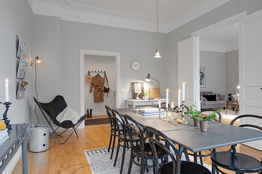 amenajari, interioare, decoratiuni, decor, design interior, apartament 3 camere, stil scandinav, sufragerie