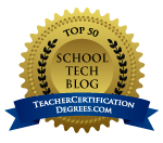 In Top 50 School Technology Blogs!