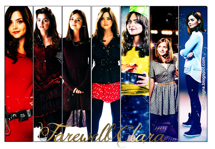 Absolutely Doctor Who Designs// Farewell Clara!
