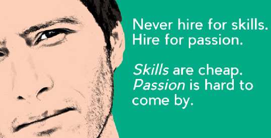 Quotes on Passion Skills Hire