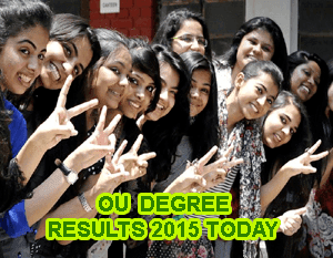 Manabadi OU Degree Results Release Today 1 PM, Osmania University Degree UG BA BCom BSc Results 2015, Schools9 OU Degree Results 2015 Date, OU UG Results 2015, Manabadi OU Degree 1st 2nd 3rd year Results 2015 Declared on 12 June 2015, Schools9 OU Results 2015 Today