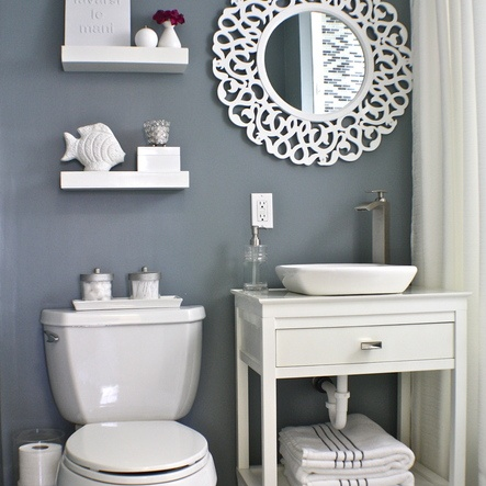 Grey And Blue Bathroom Ideas Images