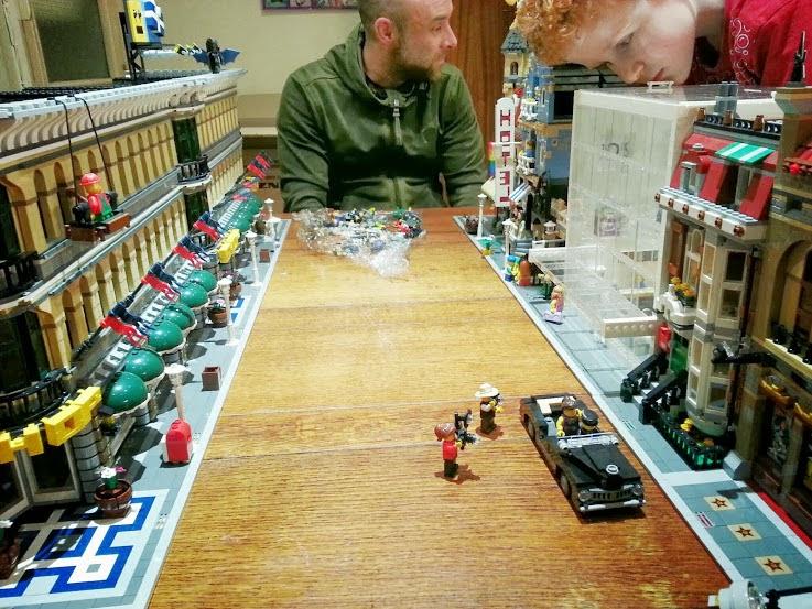 Huge LEGO model street