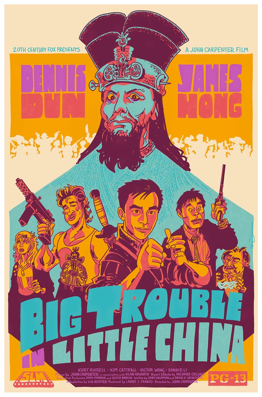 bloody pit of rod big trouble in little china 1986