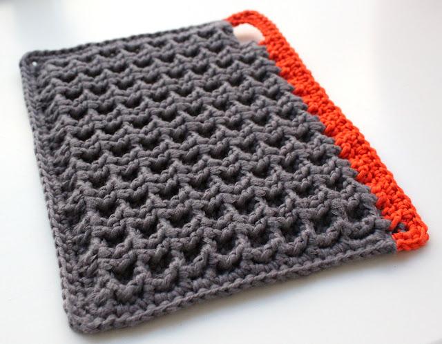 Favori Crochet nid d'abeille ! - Le blog de l'Atelier de Lola IZ65