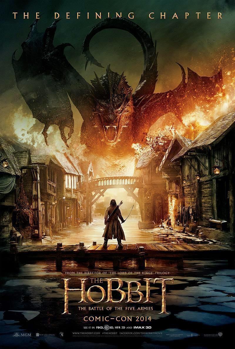 Descarga El Hobbit: La Batalla de los 5 Ejércitos [1080p] [AudioDual] (2014) 1 link Audio Latino