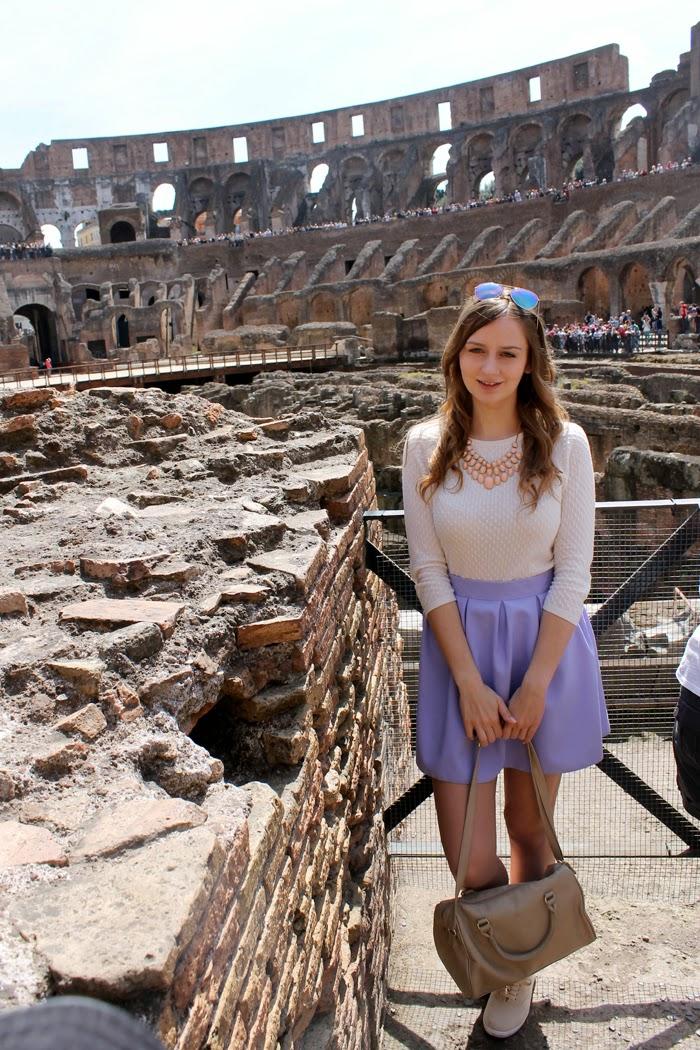 Rzym - jak dojechać, oraz Koloseum, Forum Romanum i Palatyn