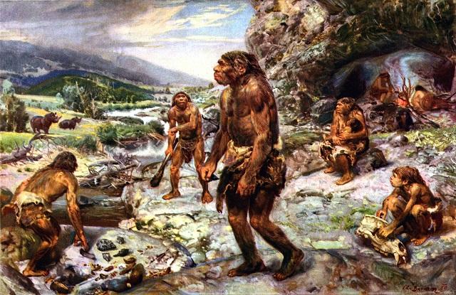 Homens de Neandertal, mais comummente conhecidos como homens das cavernas, são os nossos antepassados mais próximos.