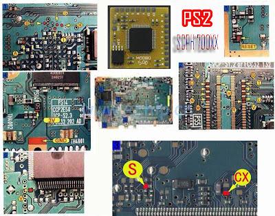 Pasang Modbo 5.0 di PS2 SCPH 700XX