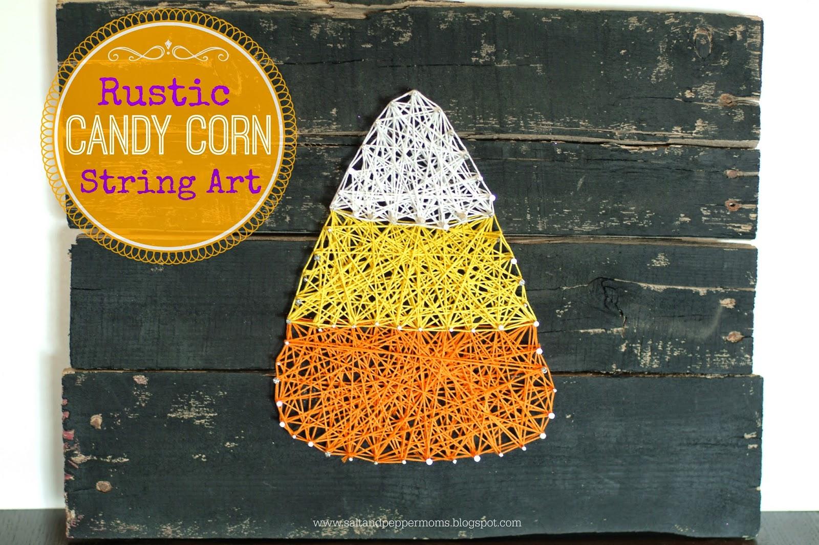 http://saltandpeppermoms.blogspot.com/2014/09/rustic-candy-corn-string-art.html
