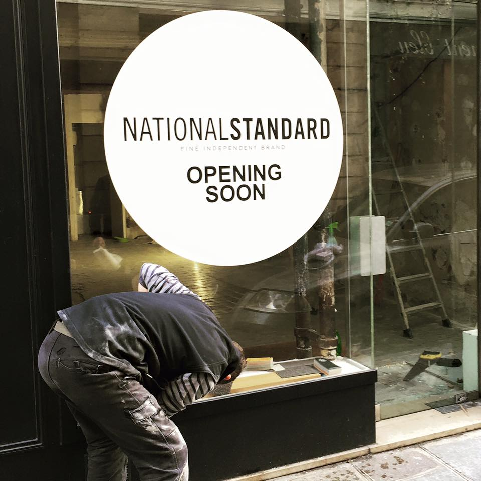 National Standard rue de Saintonge - opening soon