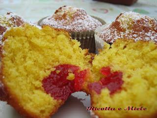 muffin all'arancia e miele/ muffin a la naranja y miel