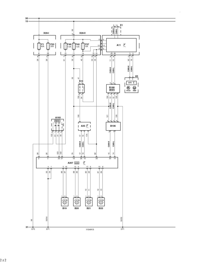 Psa Wiring Diagram For Jumper  Relay 2 2hdi  U2013 Eobdtool Blog