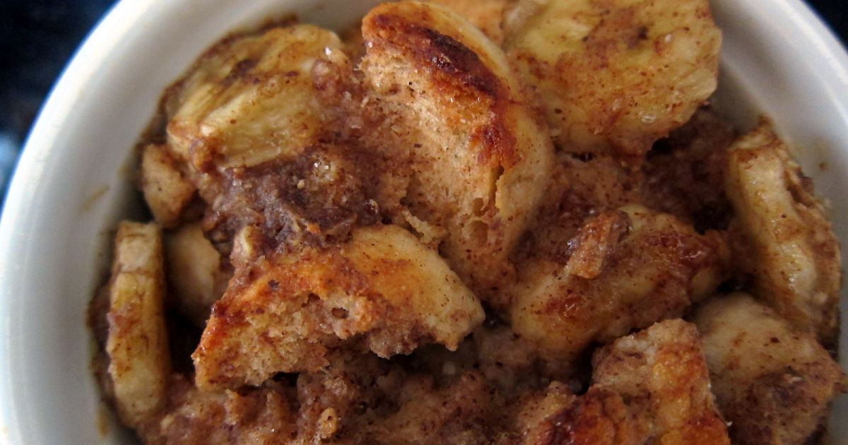 Mag-Pie's & more: Banana Peanut Butter Breakfast Bread Pudding