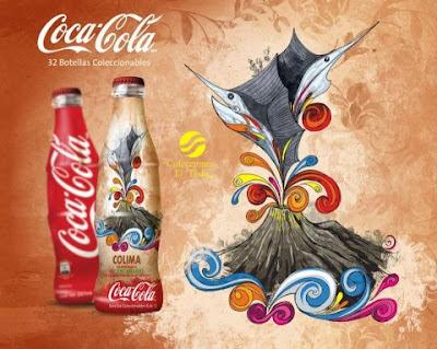 Botella Coca Cola Colima Bicentenario
