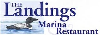 image The Landings logo featuring a loon on the lake
