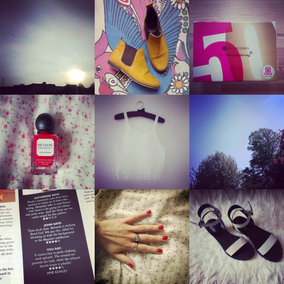 instagram, glossybox, whistles, revlon scented nail polish