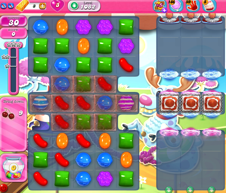 Candy Crush Saga 1082