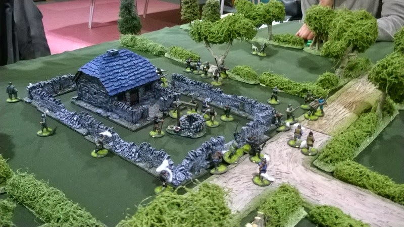 Border reivers wargame terrain grand manor