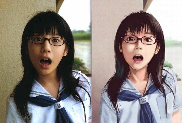 Anime vs Rzeczywistość: Zdziwiona uczennica