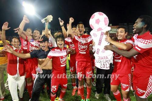 Kelantan Juara Liga Super 2012