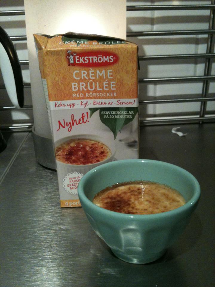 ekströms creme brulee
