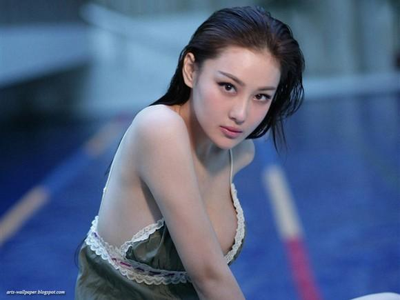Girls Beauty Wallpaper Zhang Xinyu 50