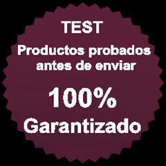 Productos Testados y Garantizados