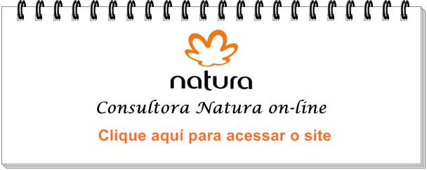 Natura on line clique na imagem e confira ofertas 6 x no cartão sem juros