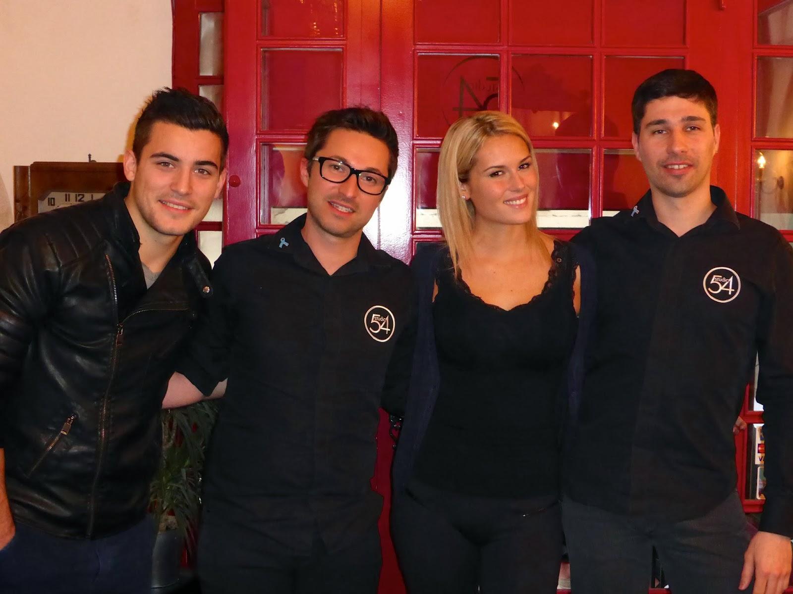 De gauche à droite : Anthony, Eddy, Marine et Guillaume.