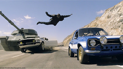 Fast And Furious 6 Dive On Car