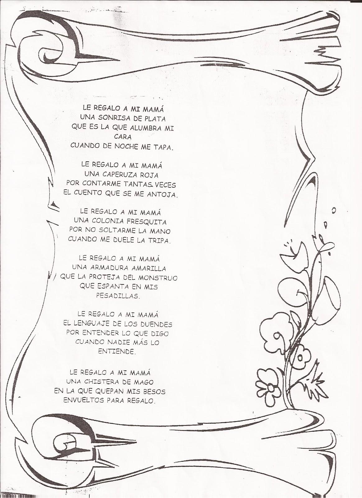 Encantador Plantilla De Poema Colección de Imágenes - Ejemplo De ...