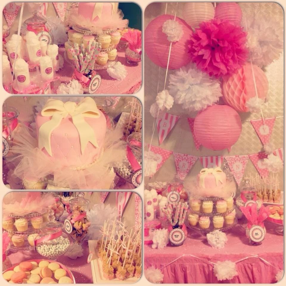 sweets by sokuntea pink tutu babyshower cake