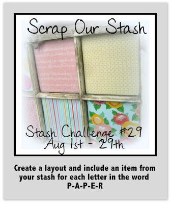 Stash Challenge #29 ~ PAPER
