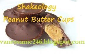 peanut butter cups, healthy recipe, Shakeology, dessert, clean eating, nut free, gluten free, vanessamc246, 21 Day Fix, PiYo