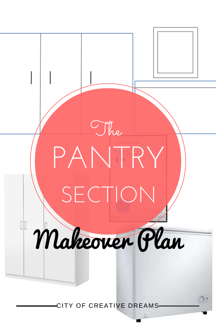 pantry makeover plan