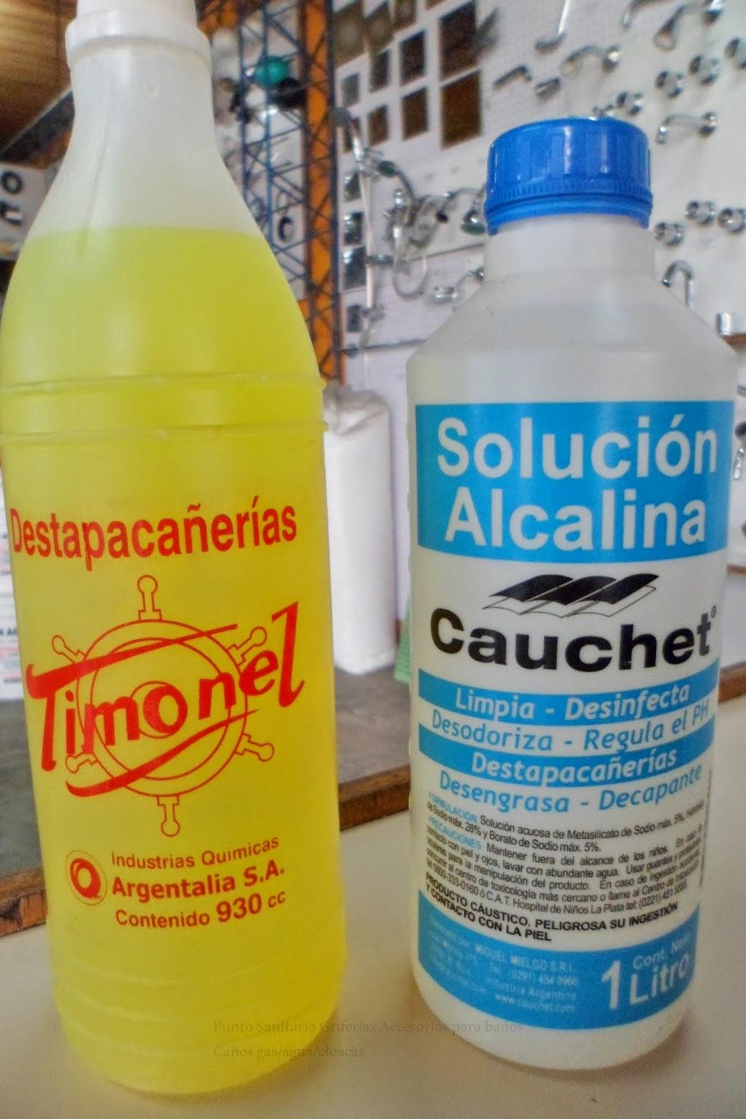 Punto sanitario c mo destapar ca er as en casa - Productos para desatascar tuberias ...