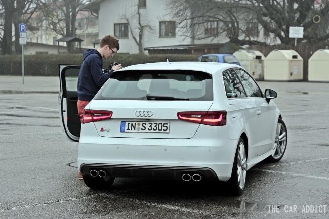 new 2013 Auudi S3 Test Drive