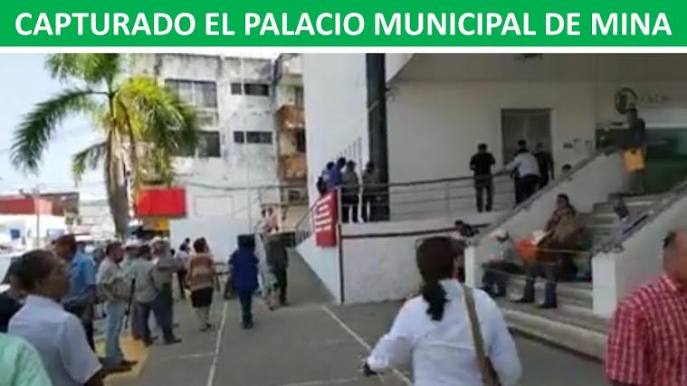 CAPTURADO EL PALACIO MUNICIPAL DE MINA