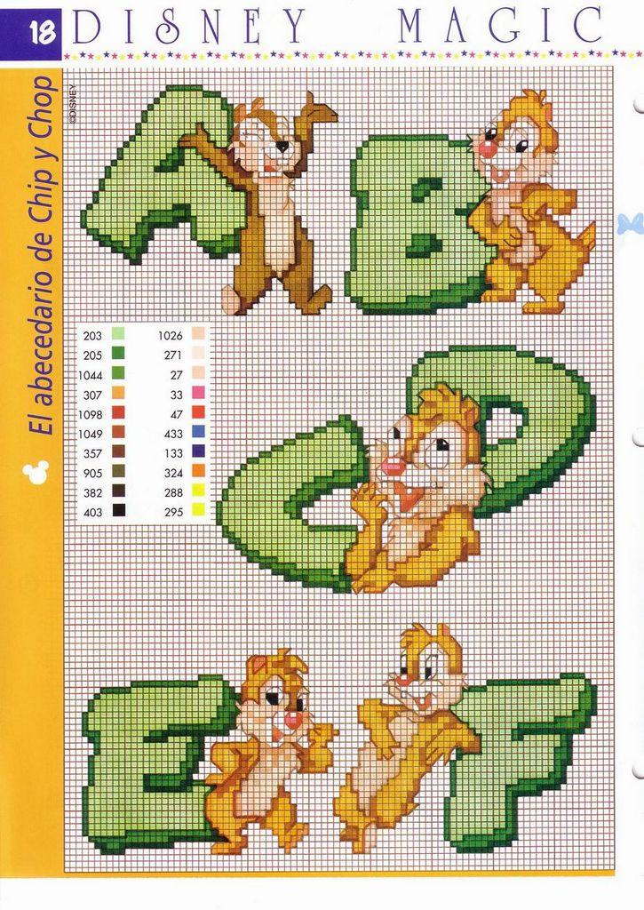 Punto croce per i bambini la mia passione un alfabeto for Lettere alfabeto punto croce per bambini