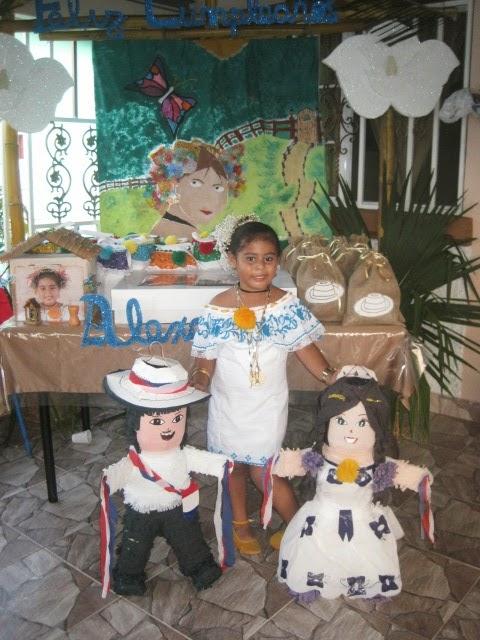 todo de folclor en mi cumpleaños: alexandra zambrano   folclor corprensa